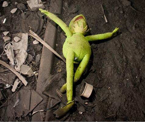 Muppets found dead after Sesame Street serves GMOs at cast